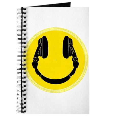 DJ Smiley Headphone Platter Journal