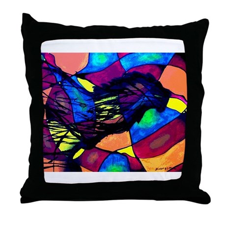 Lion Spirit Throw Pillow