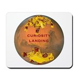 Curiosity Landing Mousepad