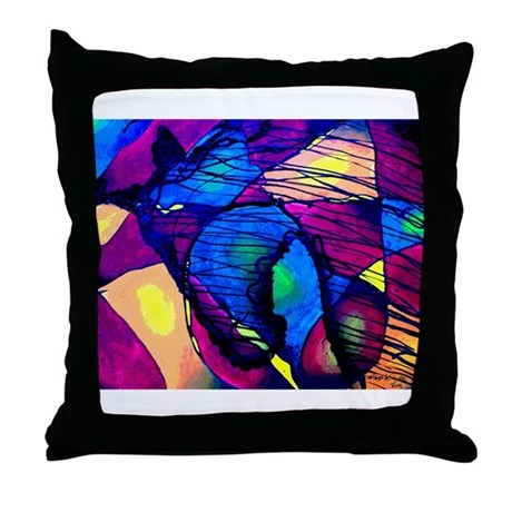 Horse Spirit Throw Pillow
