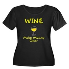 Wine Makes Mummy Clever T