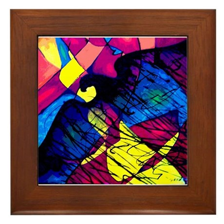 Eagle Spirit Framed Tile