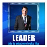 "Leader: Alan Grayson Square Car Magnet 3"" x 3"""