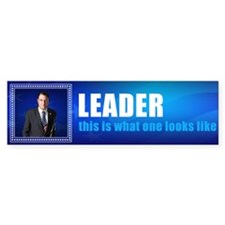 Leader: Alan Grayson Bumper Sticker