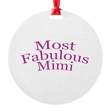 Most Fabulous Mimi Ornament