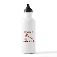 Future Lawyer Sports Water Bottle