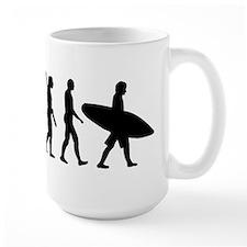 Evolution surfing Mug