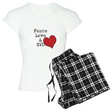 Peace Love & SVU Pajamas