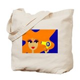 Pop Art Hairdresser Tote Bag