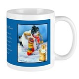 Corgi Art Coffee Mug Small