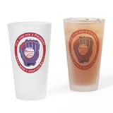 Mitt for President Drinking Glass