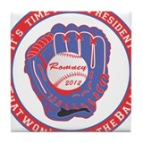 Mitt for President Tile Coaster