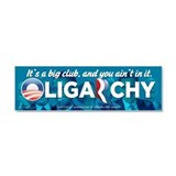 Oligarchy 2012 Car Magnet 10 x 3