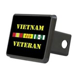 Vietnam Veteran 3 Star Hitch Cover