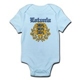 Estonia Coat of arms Infant Bodysuit