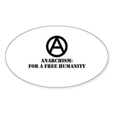 For A Free Humanity Decal