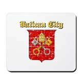 Vatican City Coat of arms Mousepad