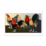 Rooster Dream Team Mini Poster Print