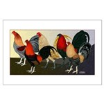 Rooster Dream Team Large Poster