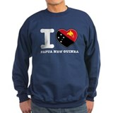 I heart Papau New Guinea Sweatshirt