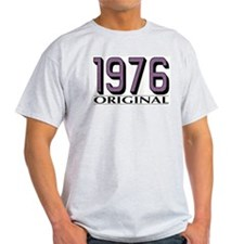 1976 Original Ash Grey T-Shirt