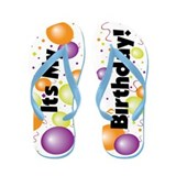 It's My Birthday! Flip Flops