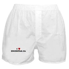 I Love ENCINITAS Boxer Shorts