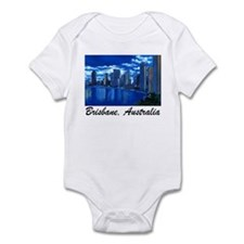 Brisbane City Skyline Infant Creeper