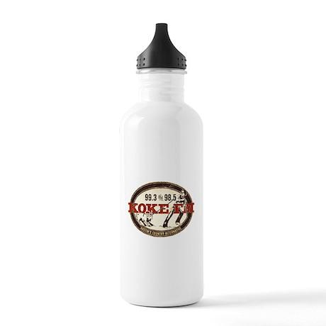 KOKE FM LOGO Stainless Water Bottle 1.0L