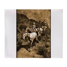 Best Seller Wild West Throw Blanket