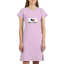 Funny Made america Women's Nightshirt