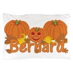 Halloween Pumpkin Bernard Pillow Case