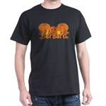 Halloween Pumpkin Bernard Dark T-Shirt
