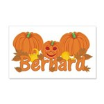 Halloween Pumpkin Bernard 20x12 Wall Decal