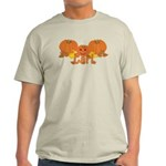 Halloween Pumpkin Carl Light T-Shirt