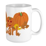 Halloween Pumpkin Carl Large Mug