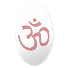 Aum / Om Symbol Oval Decal