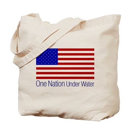 One Nation Under Water Tote Bag