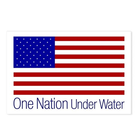 One Nation Under Water Postcards (Package of 8)