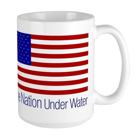 One Nation Under Water Large Mug