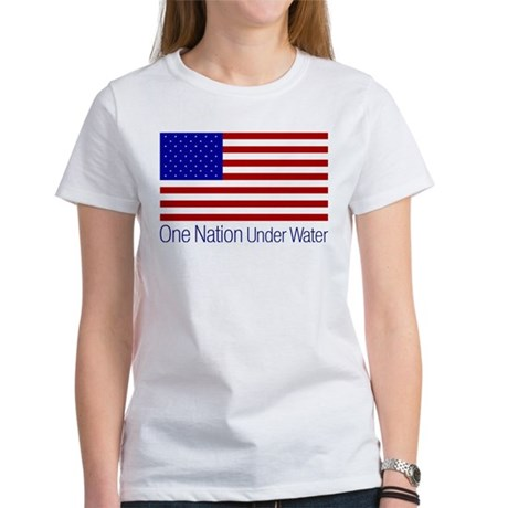 One Nation Under Water Womens T-Shirt