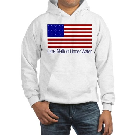 One Nation Under Water Hooded Sweatshirt