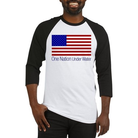 One Nation Under Water Baseball Jersey