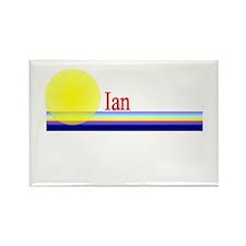 Ian Rectangle Magnet