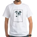 B Whippet Open Edition White T-Shirt