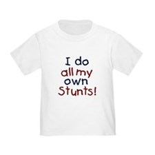 Cute I do my own stunts T