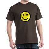 Smiley Face Black T-Shirt