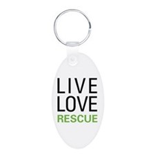 Live Love Rescue Keychains