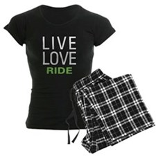 Live Love Ride Pajamas