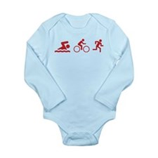 Triathlon Long Sleeve Infant Bodysuit
